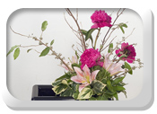 Ikebana - the art of flower arrangement